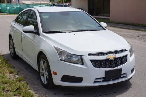2013 Chevrolet Cruze for sale at SUPER DEAL MOTORS 441 in Hollywood FL