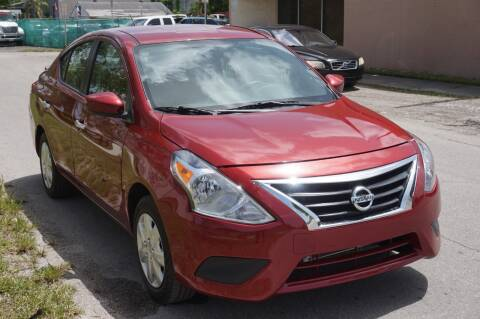 2019 Nissan Versa for sale at SUPER DEAL MOTORS in Hollywood FL