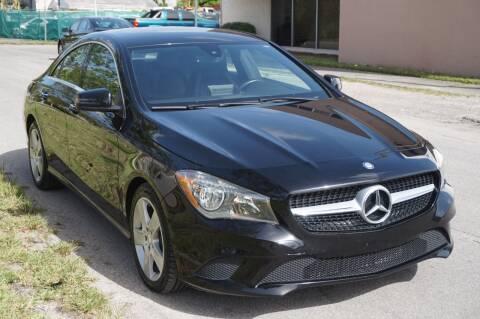 2016 Mercedes-Benz CLA for sale at SUPER DEAL MOTORS 441 in Hollywood FL