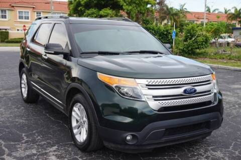 2013 Ford Explorer for sale at SUPER DEAL MOTORS in Hollywood FL