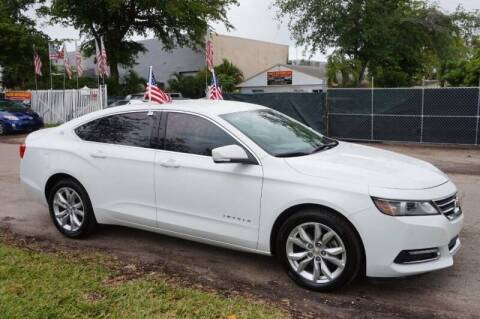 2018 Chevrolet Impala for sale at SUPER DEAL MOTORS in Hollywood FL