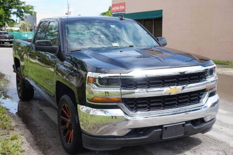 2018 Chevrolet Silverado 1500 for sale at SUPER DEAL MOTORS 441 in Hollywood FL