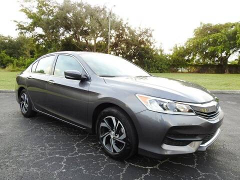 2017 Honda Accord for sale at SUPER DEAL MOTORS 441 in Hollywood FL