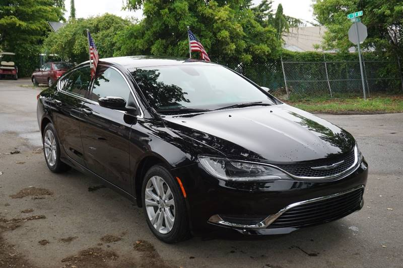 2015 CHRYSLER 200 LIMITED 4DR SEDAN black  call 866-378-7964 for sales  this 2015 chrysler