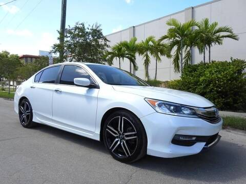 2017 Honda Accord for sale at SUPER DEAL MOTORS in Hollywood FL