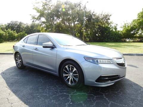 2015 Acura TLX for sale at SUPER DEAL MOTORS in Hollywood FL