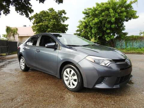 2016 Toyota Corolla for sale at SUPER DEAL MOTORS in Hollywood FL