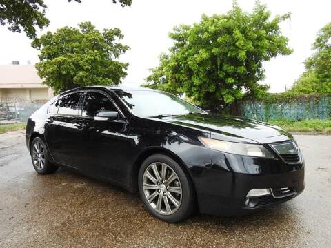 2014 Acura TL for sale at SUPER DEAL MOTORS in Hollywood FL