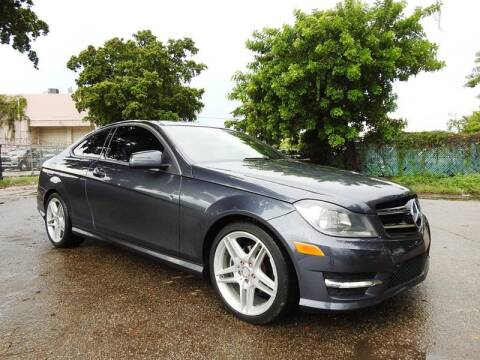 2013 Mercedes-Benz C-Class for sale at SUPER DEAL MOTORS in Hollywood FL
