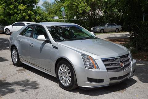 2010 Cadillac CTS for sale at SUPER DEAL MOTORS in Hollywood FL