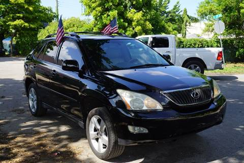 2004 Lexus RX 330 for sale at SUPER DEAL MOTORS in Hollywood FL