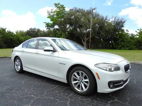 2015 BMW 5 Series for sale at SUPER DEAL MOTORS in Hollywood FL