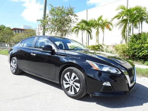 2020 Nissan Altima for sale at SUPER DEAL MOTORS in Hollywood FL
