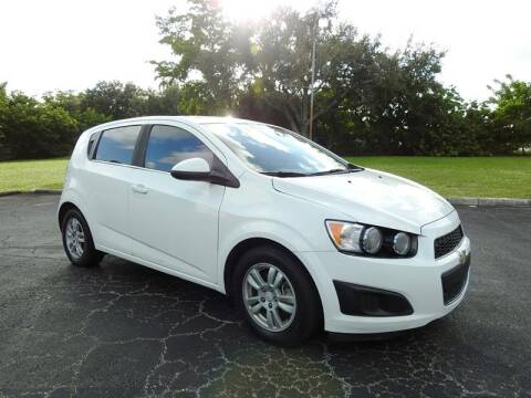 2012 Chevrolet Sonic for sale at SUPER DEAL MOTORS in Hollywood FL