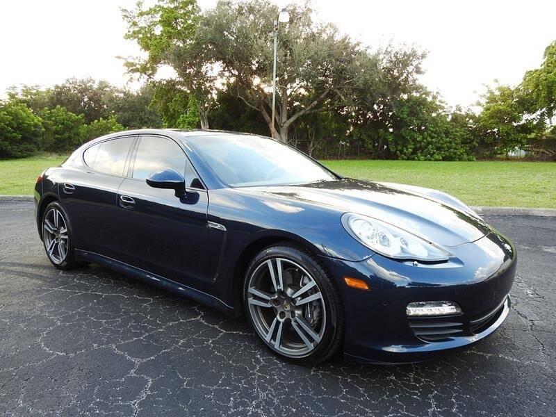 2013 Porsche Panamera for sale at SUPER DEAL MOTORS 441 in Hollywood FL