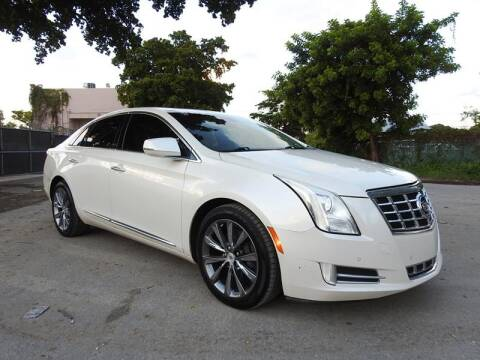 2013 Cadillac XTS for sale at SUPER DEAL MOTORS in Hollywood FL