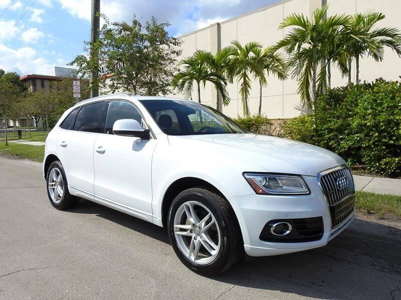 2014 Audi Q5 for sale at SUPER DEAL MOTORS in Hollywood FL