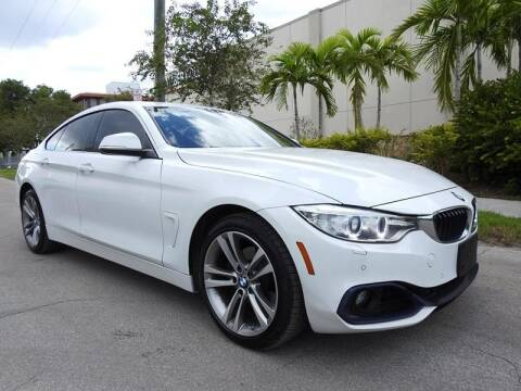 2016 BMW 4 Series for sale at SUPER DEAL MOTORS in Hollywood FL
