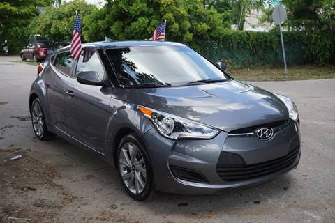 2016 Hyundai Veloster for sale at SUPER DEAL MOTORS in Hollywood FL