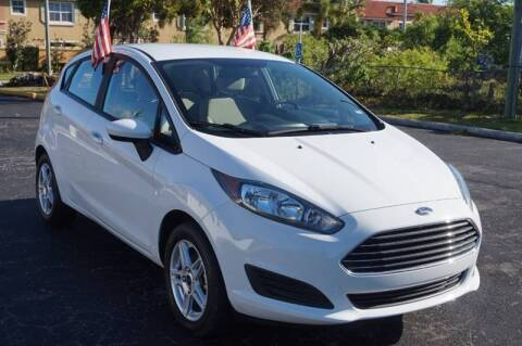 2019 Ford Fiesta for sale at SUPER DEAL MOTORS 441 in Hollywood FL