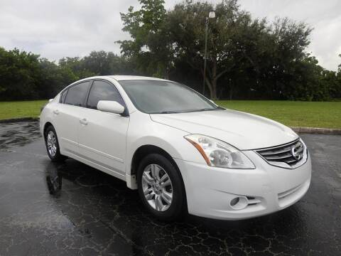 2012 Nissan Altima for sale at SUPER DEAL MOTORS in Hollywood FL