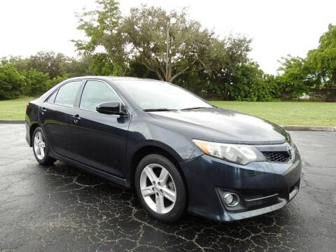 2014 Toyota Camry for sale at SUPER DEAL MOTORS 441 in Hollywood FL