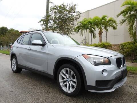2015 BMW X1 for sale at SUPER DEAL MOTORS in Hollywood FL