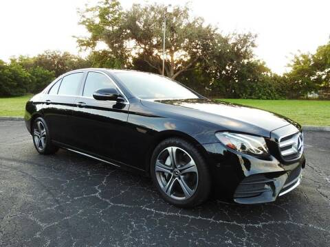 2017 Mercedes-Benz E-Class for sale at SUPER DEAL MOTORS in Hollywood FL