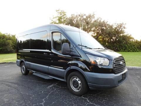 2017 Ford Transit Passenger for sale at SUPER DEAL MOTORS in Hollywood FL