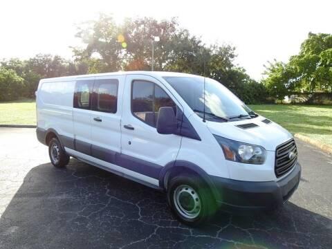 2015 Ford Transit Cargo for sale at SUPER DEAL MOTORS 441 in Hollywood FL