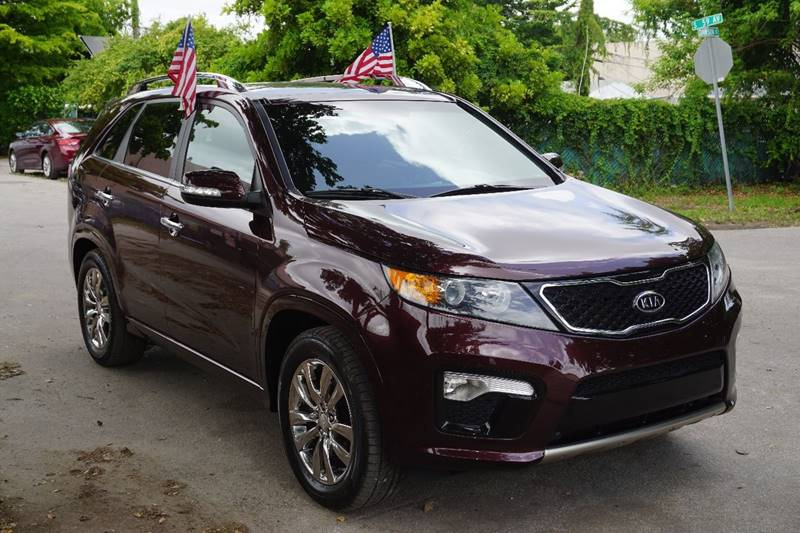 2012 KIA SORENTO SX 4DR SUV burgundy  call 866-378-7964 for sales  this 2012 kia sorento sx