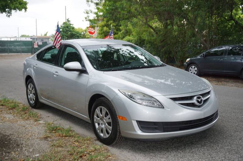 2010 MAZDA MAZDA6 I SPORT 4DR SEDAN 5A silver  call 866-378-7964 for sales  this 2010 mazda