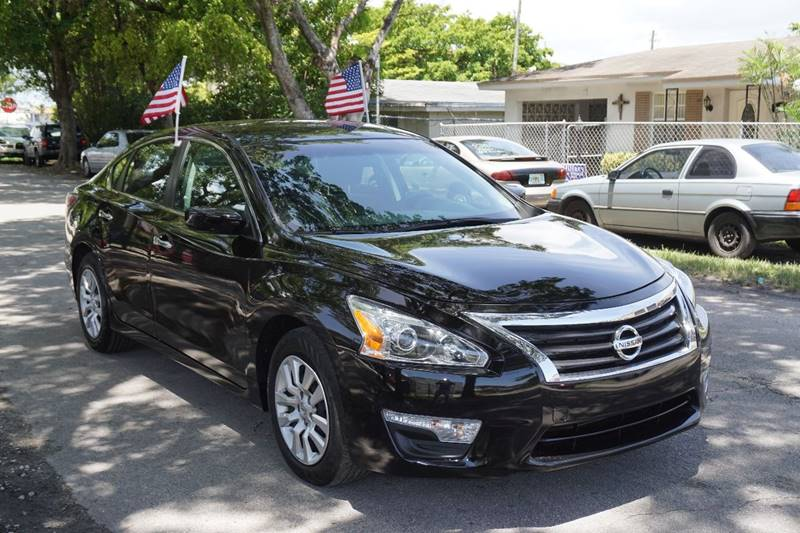 2015 NISSAN ALTIMA 25 S 4DR SEDAN black  call 866-378-7964 for sales  this 2015 nissan alt