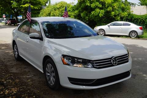 2015 Volkswagen Passat for sale at SUPER DEAL MOTORS in Hollywood FL