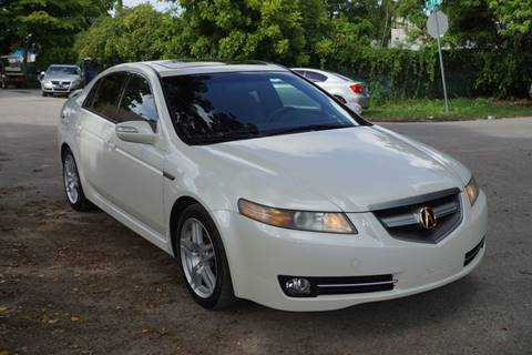 2007 Acura TL for sale at SUPER DEAL MOTORS in Hollywood FL