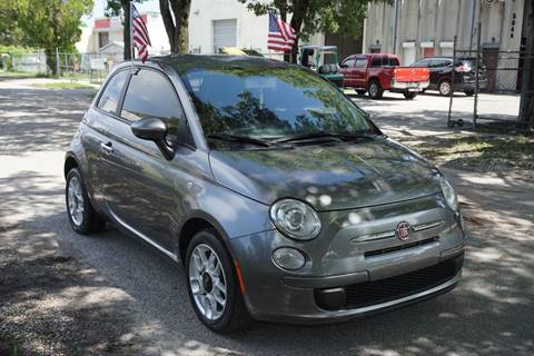 2012 FIAT 500 for sale at SUPER DEAL MOTORS in Hollywood FL