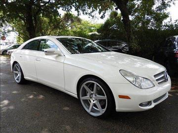 2010 Mercedes-Benz CLS for sale at SUPER DEAL MOTORS in Hollywood FL