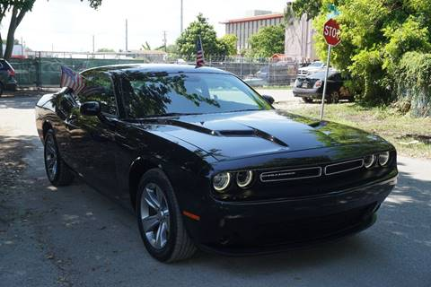 2016 Dodge Challenger for sale at SUPER DEAL MOTORS in Hollywood FL