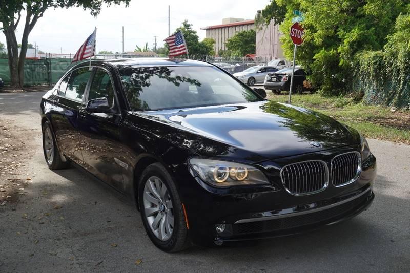 2011 BMW 7 SERIES 750LI XDRIVE AWD 4DR SEDAN black  call 866-378-7964 for sales  this 2011