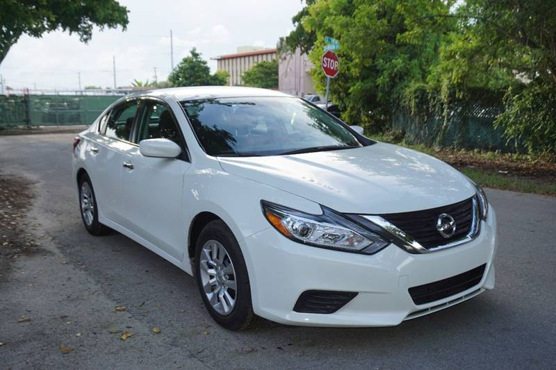 2016 NISSAN ALTIMA 25 S 4DR SEDAN white  call 866-378-7964 for sales  this 2016 nissan alt