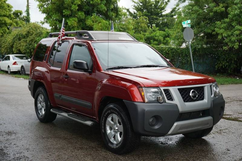 2012 NISSAN XTERRA X 4X2 4DR SUV red  call 866-378-7964 for sales  this 2012 nissan xterra