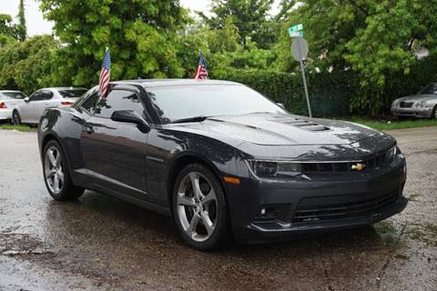 2015 Chevrolet Camaro for sale at SUPER DEAL MOTORS in Hollywood FL