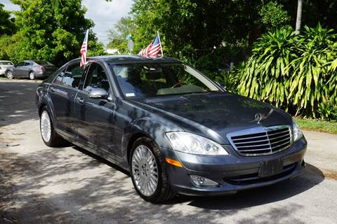 2007 Mercedes-Benz S-Class for sale at SUPER DEAL MOTORS in Hollywood FL
