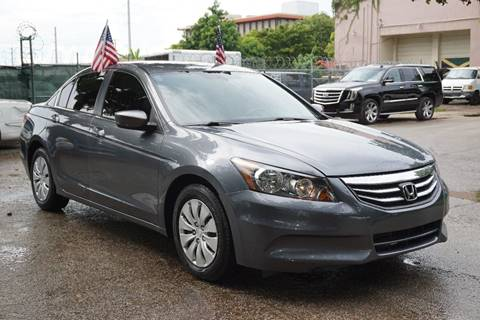 2012 Honda Accord for sale at SUPER DEAL MOTORS in Hollywood FL
