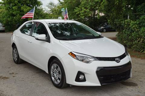 2015 Toyota Corolla for sale in Hollywood, FL