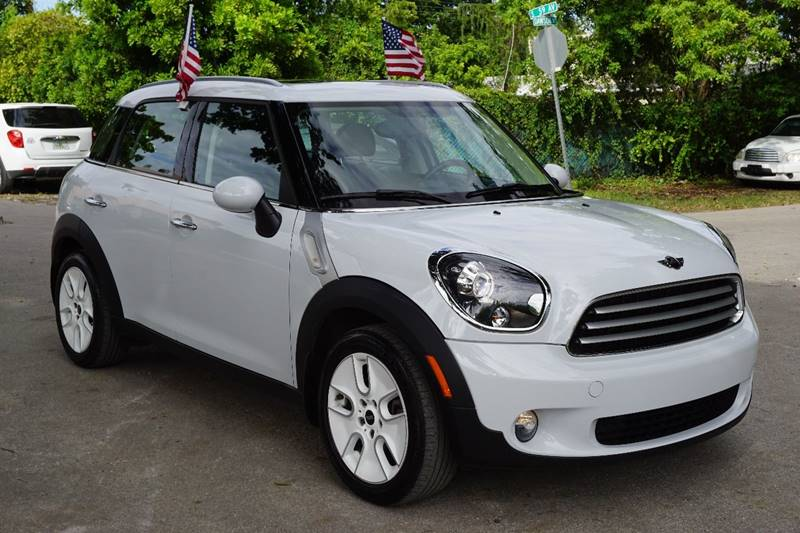 2012 MINI COOPER COUNTRYMAN BASE 4DR CROSSOVER white  call 866-378-7964 for sales  this 201