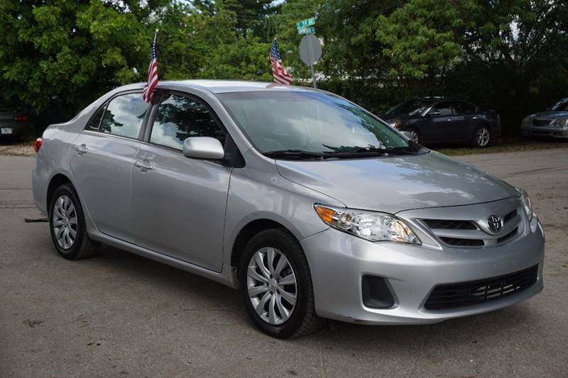 2013 TOYOTA COROLLA LE 4DR SEDAN 4A silver  call 866-378-7964 for sales  this 2013 toyota c