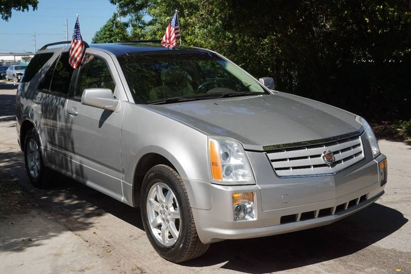 2007 CADILLAC SRX V6 4DR SUV silver  call 866-378-7964 for sales  this 2007 cadillac srx v6