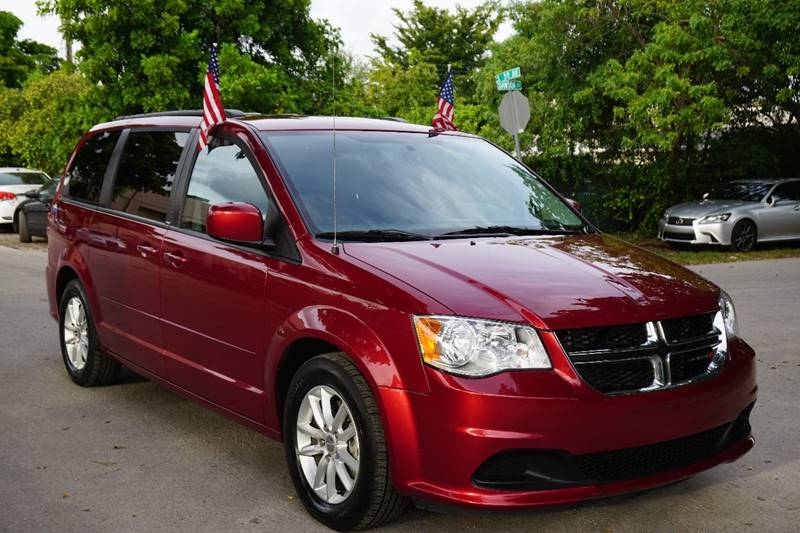 2014 DODGE GRAND CARAVAN SXT 4DR MINI VAN red  call 866-378-7964 for sales  this 2014 dodge