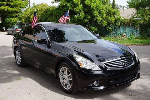 2012 Infiniti G25 Sedan for sale in Hollywood, FL